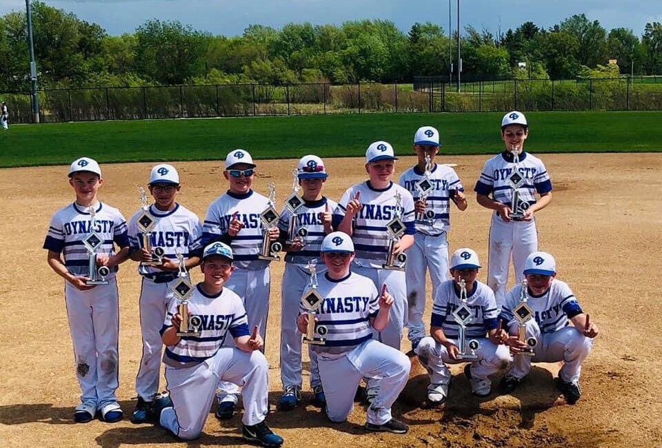 12U Black Illinois dynasty Baseball