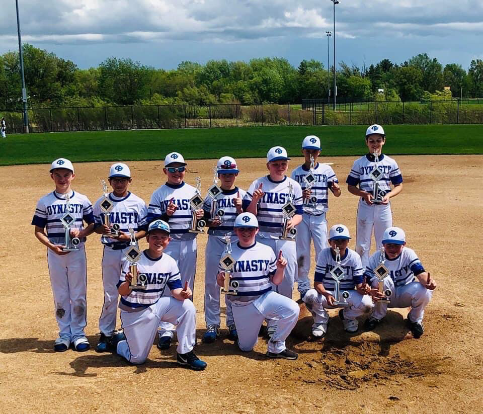 12U Black Illinois dynasty Baseball
