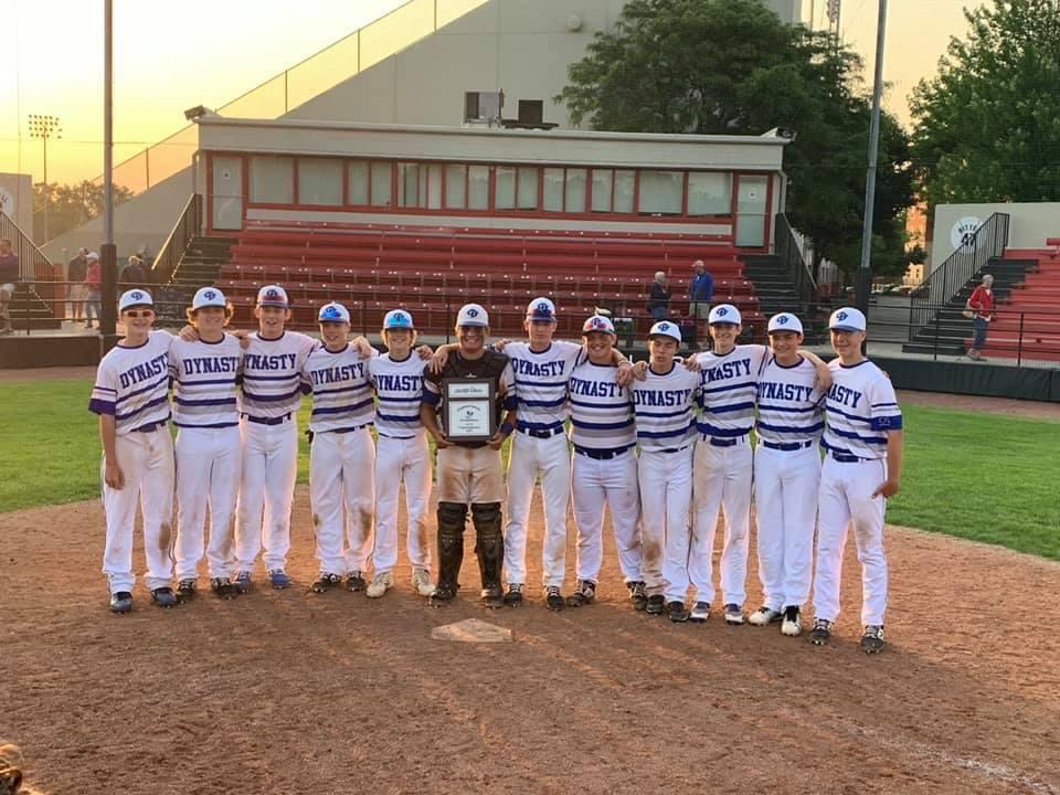 15U-Black Illinois dynasty Baseball